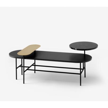 Table basse 3 plateaux PALETTE
