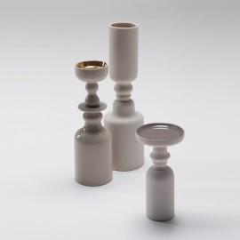 Vase et bougeoir Issima