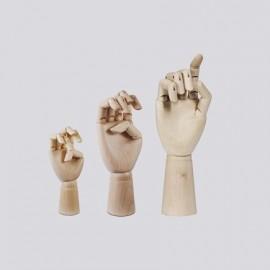 Main articulée Wooden Hand